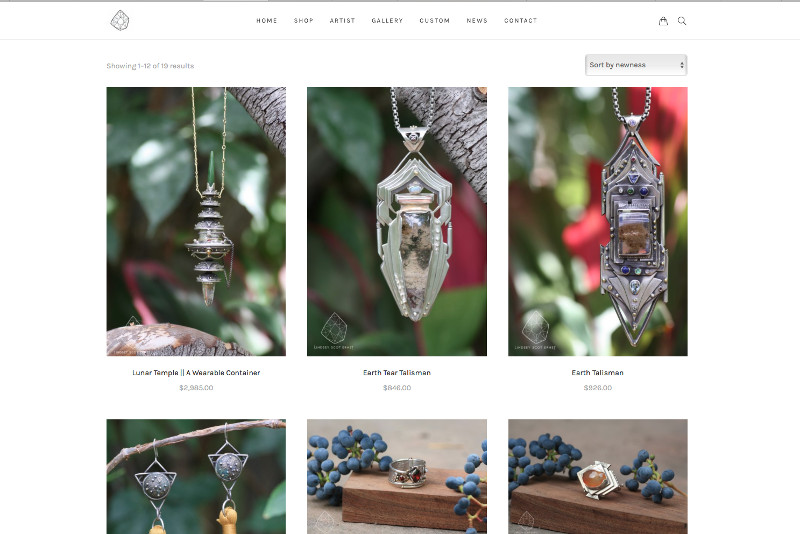 Ecommerce for Artisan Jewelry